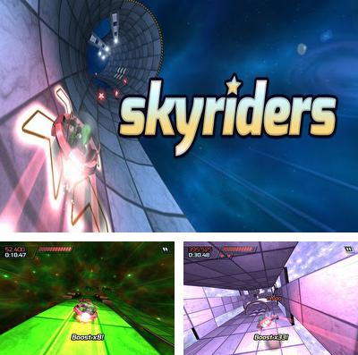 In addition to the game Defend The Fortress for iPhone, iPad or iPod, you can also download Skyriders for free.