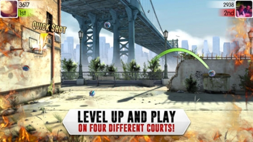 Descarga gratuita de Slam dunk Basketball 2 para iPhone, iPad y iPod.