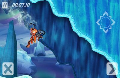 Screenshots of the Sled Mayhem game for iPhone, iPad or iPod.