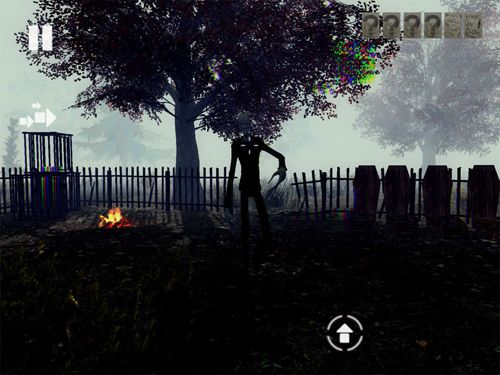Игра Slender man: Dark forest для iPhone