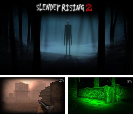 In addition to the game Snow leopard simulator for iPhone, iPad or iPod, you can also download Slender rising 2 for free.