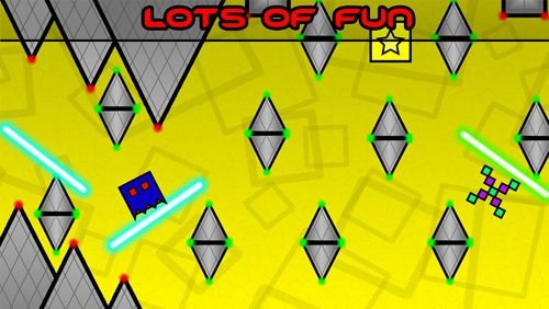 Screenshots of the Sliding square game for iPhone, iPad or iPod.