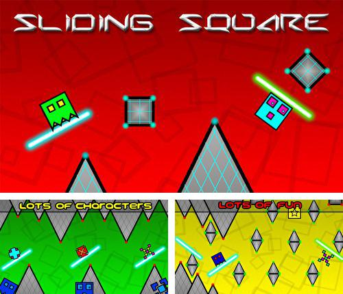 In addition to the game Baby shark fly for iPhone, iPad or iPod, you can also download Sliding square for free.
