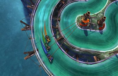Download Slingshot Racing iPhone free game.