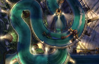 Descarga gratuita de Slingshot Racing para iPhone, iPad y iPod.