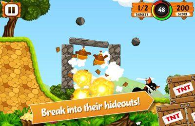 Screenshots of the Sly Fox game for iPhone, iPad or iPod.