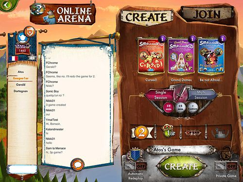 Screenshots of the Small world 2 game for iPhone, iPad or iPod.