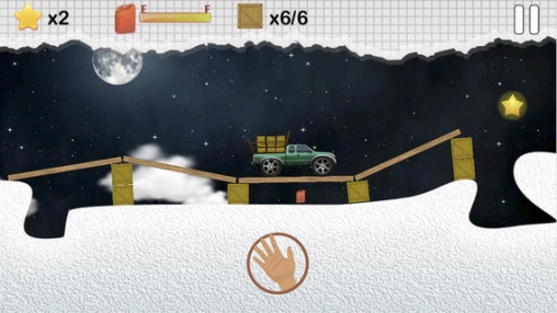 Screenshots of the Smart truck - cargo delivery game for iPhone, iPad or iPod.