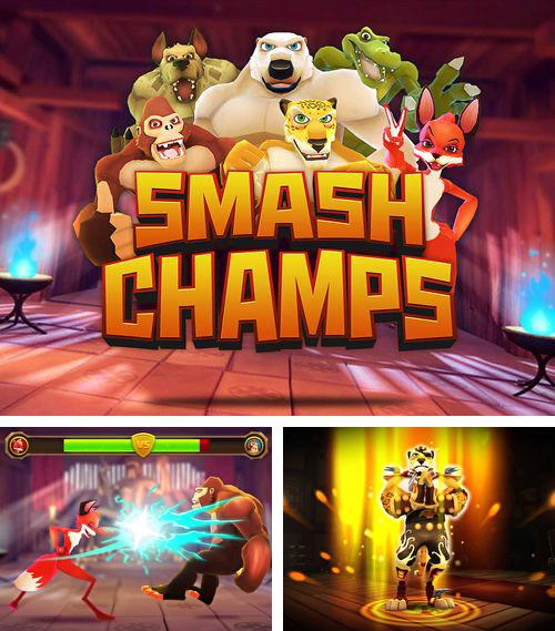 In addition to the game Rune Gems – Deluxe for iPhone, iPad or iPod, you can also download Smash champs for free.