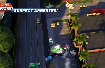 Capturas de pantalla del juego Smash cops para iPhone, iPad o iPod.