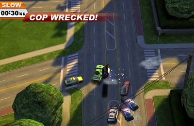 Screenshots do jogo Smash cops para iPhone, iPad ou iPod.