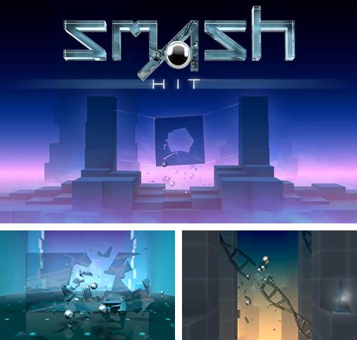 In addition to the game (R)evolve for iPhone, iPad or iPod, you can also download Smash hit for free.