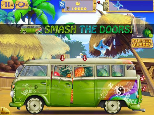 Screenshots of the Smash mania game for iPhone, iPad or iPod.