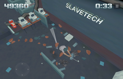 Screenshots do jogo Smash the Office para iPhone, iPad ou iPod.