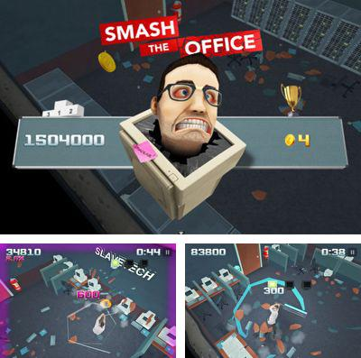 In addition to the game Cats: Crash arena turbo stars for iPhone, iPad or iPod, you can also download Smash the Office for free.