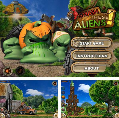 In addition to the game Catch the Ark for iPhone, iPad or iPod, you can also download Smash These Aliens for free.