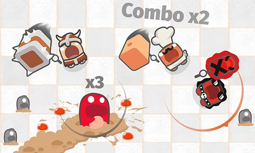 Download Smashers.io: Foes in worms land iPhone free game.