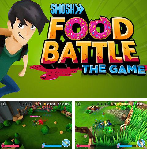 Download Smosh: Food battle. The game iPhone free game.