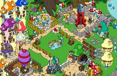 Free Smurfs Village download for iPhone, iPad and iPod.