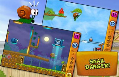 Screenshots do jogo Snail Bob para iPhone, iPad ou iPod.