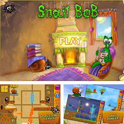 In addition to the game Atlantis 3: The new world for iPhone, iPad or iPod, you can also download Snail Bob for free.