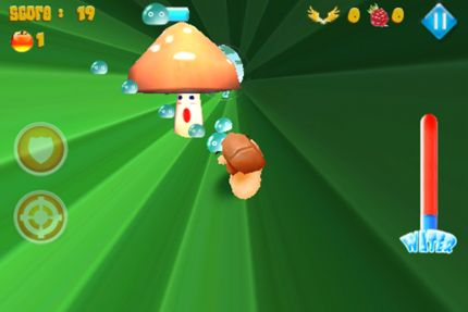 Capturas de pantalla del juego Snail express para iPhone, iPad o iPod.