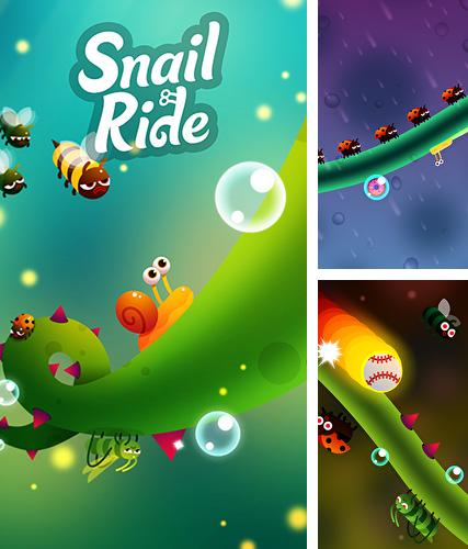 In addition to the game World zombination for iPhone, iPad or iPod, you can also download Snail ride for free.