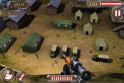 Free Sniper 2 download for iPhone, iPad and iPod.