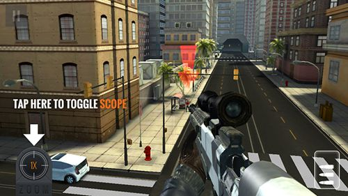 Kostenloser Download von Sniper 3D assassin: Shoot to kill für iPhone, iPad und iPod.