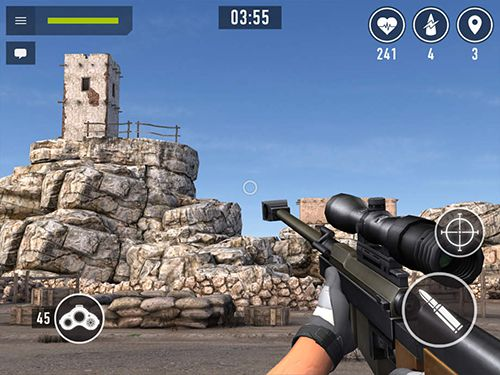 Descarga gratuita de Sniper аrena para iPhone, iPad y iPod.