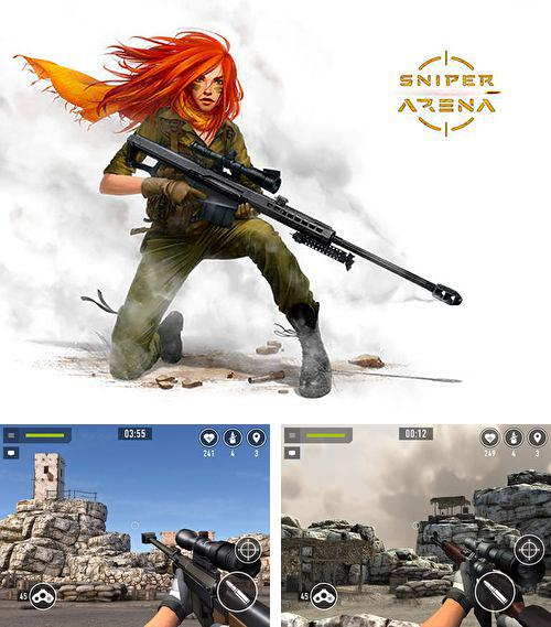 In addition to the game Chicken Balls: Area for iPhone, iPad or iPod, you can also download Sniper аrena for free.