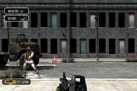 Descarga gratuita de Sniper attack para iPhone, iPad y iPod.