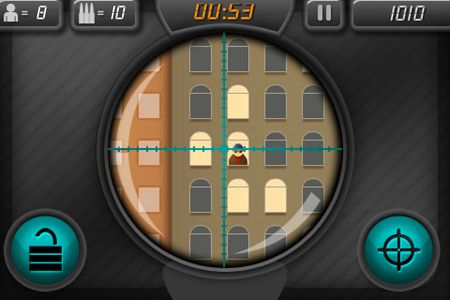 Screenshots of the Sniper attack: Kill or be killed game for iPhone, iPad or iPod.