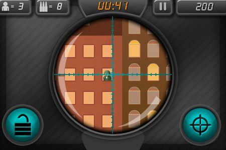 Screenshots vom Spiel Sniper attack: Kill or be killed für iPhone, iPad oder iPod.