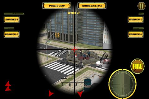 Kostenloses iPhone-Game Sniper City: Zombies herunterladen.