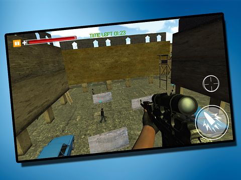 Capturas de pantalla del juego Sniper killer: Revenge in crime city para iPhone, iPad o iPod.