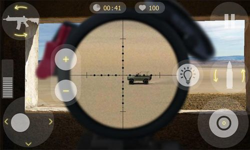Screenshots of the Sniper time 2: Missions game for iPhone, iPad or iPod.