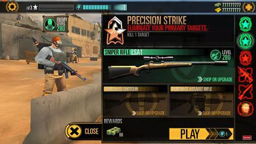 Capturas de pantalla del juego Sniper X with Jason Statham para iPhone, iPad o iPod.