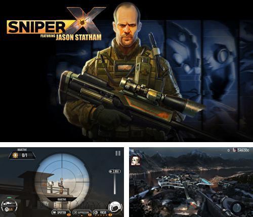 除了 iPhone、iPad 或 iPod 切僵尸游戏,您还可以免费下载Sniper X with Jason Statham, 。