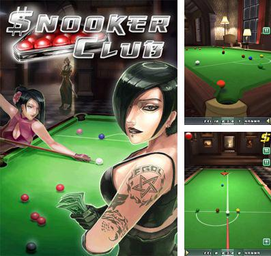In addition to the game Baby Nom Nom for iPhone, iPad or iPod, you can also download Snooker Club for free.
