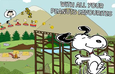 iPhone Snoopy Coaster。ゲームを無料でダウンロード。