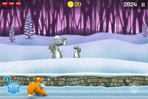 Download Snow brawlin' xtreme iPhone free game.