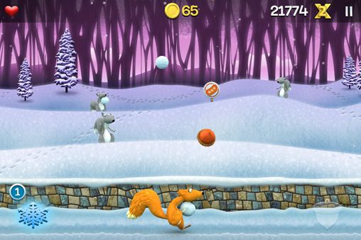 Screenshots of the Snow brawlin' xtreme game for iPhone, iPad or iPod.