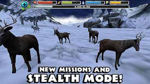 Free Snow leopard simulator download for iPhone, iPad and iPod.
