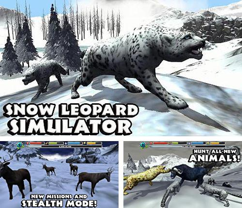 除了 iPhone、iPad 或 iPod 游戏,您还可以免费下载Snow leopard simulator, 。