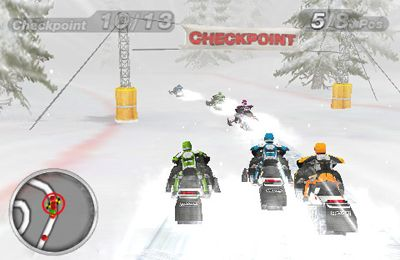 Скачать Snow Moto Racing на iPhone бесплатно