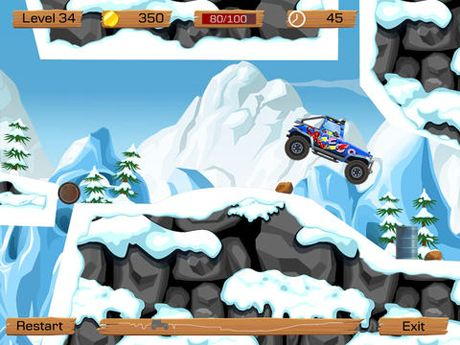 Screenshots vom Spiel Snow off road für iPhone, iPad oder iPod.