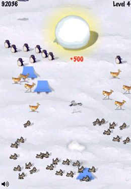 Download Snowball Runer iPhone free game.