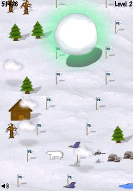 Free Snowball Runer download for iPhone, iPad and iPod.