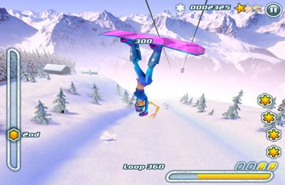 Screenshots do jogo Snowboard Hero para iPhone, iPad ou iPod.